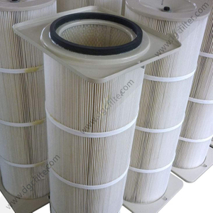 Rectangular Top Flange Filter Cartridge