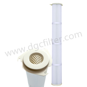 Antistatic Water Oil Repellent Filter Cartridge