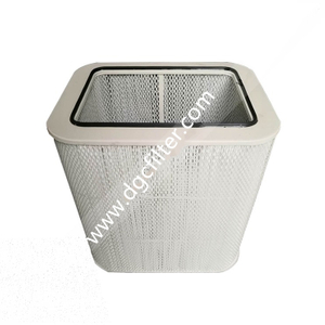 The Mist And Oil Filter Cartridge For Metal Cutting And Rolling