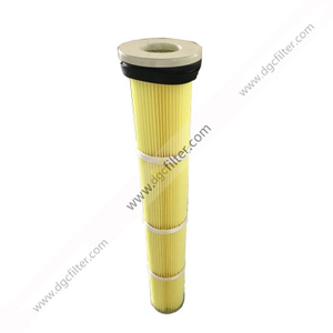 Long Pulse Pleated Bag Filter